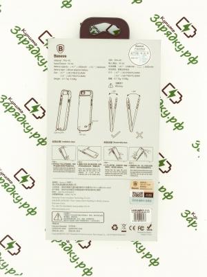 Чехол Аккумулятор Baseus iPhone 6/6s 2500 mAh белый