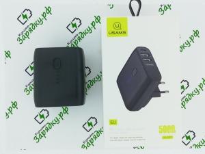 Внешний аккумулятор Usams PB11 Dual USB Charger 5000mAh (5KCD7101)