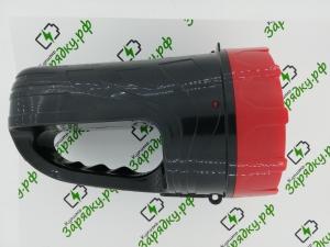 Фонарь-прожектор SBF-400-K черный SMARTBUY