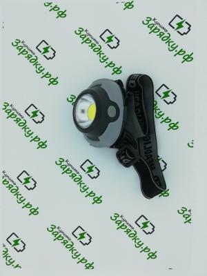 Фонарь NL KX-1801 COB (1801) черно-серый (1COB LED) ( (MR)