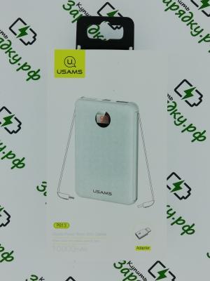 Внешний аккумулятор Usams PB13 Digital Cable 10000mAh (10KCD7402)
