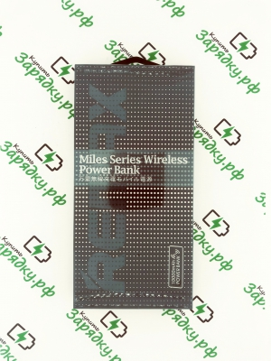 Внешний аккумулятор Remax Miles Series 10000mAh RPP-103 (с функцией беспроводной зарядки)